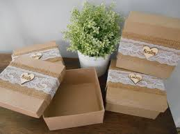 personalized jewelry gift boxes rustic personalized bridesmaid gift box set of 2 jewelry