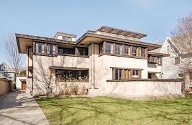 frank lloyd wright u0027s restored oscar b balch house in chicago hits
