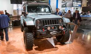 jeep hellcat 6x6 2017 sema show wild and crazy autonxt