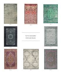 Modern Pattern Rugs by Our Top 8 Modern Vintage Rugs Studio Modern And Vintage