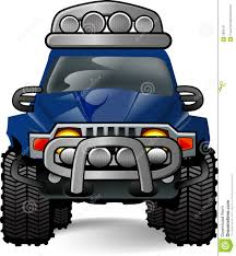 jeep cartoon offroad off road vehicle clipart