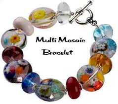 murano glass beads bracelet images Venetian glass bead bracelet free design make your own jpg