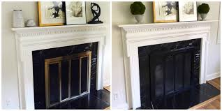 an easy fireplace refresh a