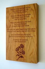 bespoke personalised wall plaques makemesomethingspecial