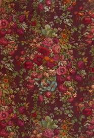 floral brocade on antique black victorian wallpaper wallpaper