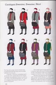 interesting color combinations learning vintage colour combos the closet feminist