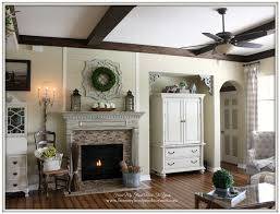 French Country Fireplace - country living fireplaces small living room ideas 30 with