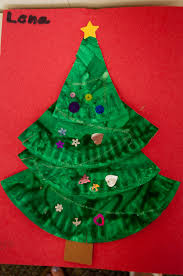 mrs ricca u0027s kindergarten christmas tree craft