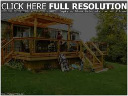 backyards splendid backyard decks backyard deck ideas pinterest