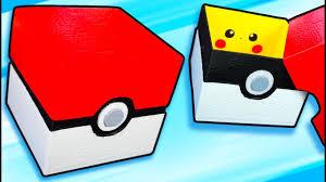diy pokébox pokémon collector with pikachu craft ideas for