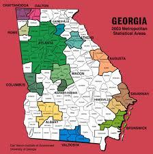 msa map maps metropolitan statistical areas map georgiainfo