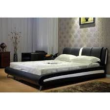 leather beds for less overstock com