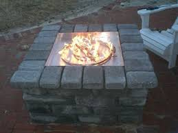 Fire Pit With Glass by How To Build A Propane Fire Pit