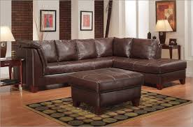 Sectional Leather Sofas With Chaise Beautiful Brown Leather Sectional Sofa Sleeper Within Plans 19