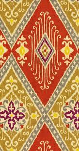 Iman Home Decor Home Decor Print Fabric Iman Ikat Spice Joann