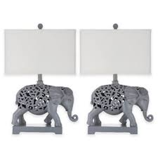 Elephant Table Lamp Buy Grey Table Lamp From Bed Bath U0026 Beyond