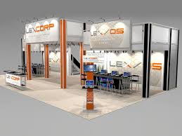 booth rental multi level tradeshow booth rental ro3020
