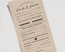 wedding mad libs template wedding mad libs printable template kraft sign and groom