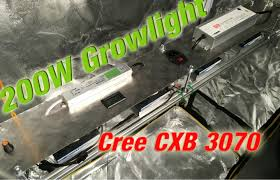 diy cree led grow light diy cree led grow light 100 200w cxb3070 with fan controller