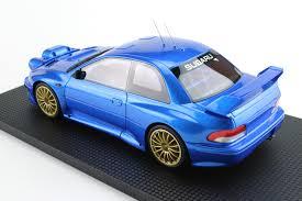 subaru blue top marques collectibles subaru impreza s4 wrc 2p
