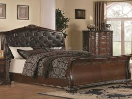 old world bedroom maddison old world sleigh 6 pc queen bedroom 202261q seaboard