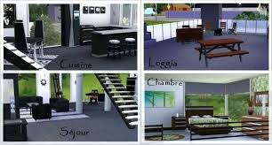 cuisine sims 3 beautiful maison de luxe moderne universe of imagination pictures