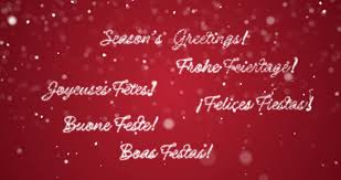 looping season s greetings message in german