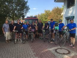 Polizei Bad Kissingen Gemeinsame Radausfahrt Mit Der Polizei Freiwillige Feuerwehr