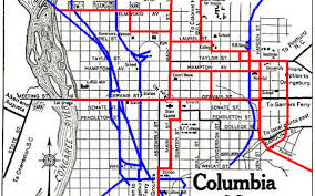 Columbia Campus Map Old Trolley Tracks Discovered On N Main The State