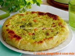 giallo zafferano cucina vegetariana ricetta torta salata con cavolfiore e broccoli