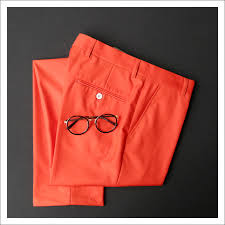 online get cheap men dress pants orange aliexpress com alibaba