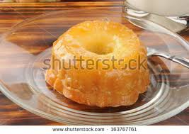 pineapple upside down cake stock images royalty free images