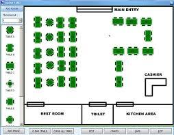 layout denah cafe prima restauran software restauran batam software house in batam