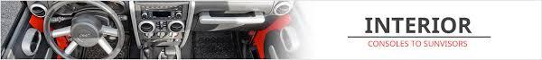 Jeep Interior Parts Jeep Interior Parts And Accessories Jeep Consoles Grab Handles