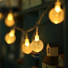 aa battery light bulb aa battery led string lights 2m 20 led crystal ball globle christmas