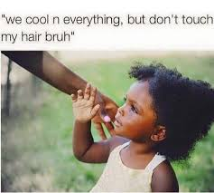 Natural Hair Meme - top 10 annoying questions about natural hair