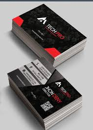 tech pro v1 premium business card templates psd nulled scripts