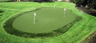Backyard Golf Games Golf Tips And Games For Home Tm Turfscapes Synlawn Golf