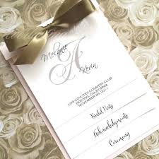 layered wedding programs layered wedding program blush pink gold sle booklet