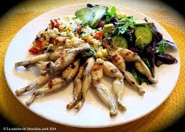 grenouille cuisine la cuisine de messidor cuisses de grenouille barbecue à la mexicaine
