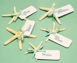 themed place cards starfish place card ideas the king and prince