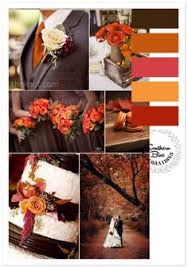classic red fall winter wedding color palettes weddings