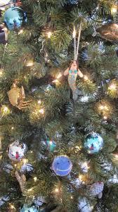 nautical tree skirt lights decoration