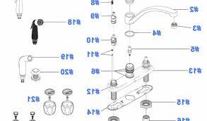 delta kitchen faucet parts diagram repair parts for delta kitchen faucets delta kitchen faucet parts