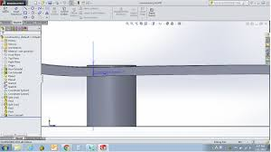 how do i extrude from a curved surface to a fla solidworks forums