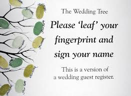 tree signing for wedding wedding tree guest book tbrb info
