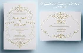 wordings amazing wedding invitation card design template free