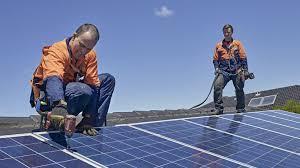 install solar installing solar panels origin energy
