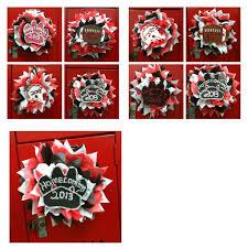 Ideas For Locker Decorations Astonishing Cheerleading Locker Decorations Images Best