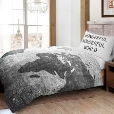 World Map Duvet Cover Uk by Print Children Teenage Kids Boys Girls Football Quilt Duvet Cover
